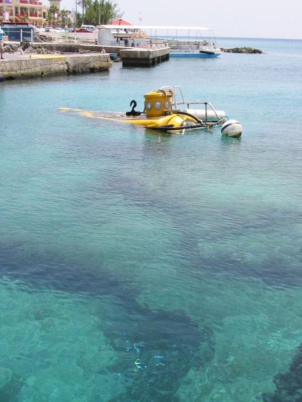 Cayman Islands Submarine Tour Dive Depth