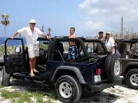 Cayman Jeep tours, photo opporunity stop
