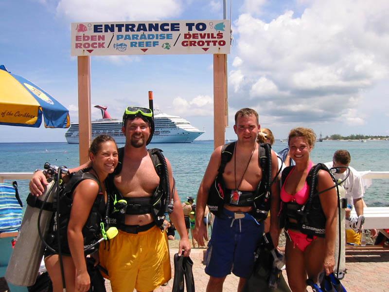 Grand Cayman Islands Scuba Diving, the Cayman Islands offshore ...