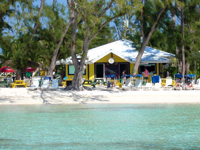 Rum Point Beach Club after Stingray City