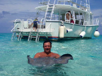Stingray at Stingray City