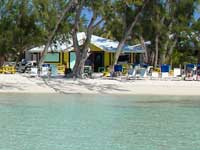 Rum Point Beach Club in Grand Cayman on the Jeep tour